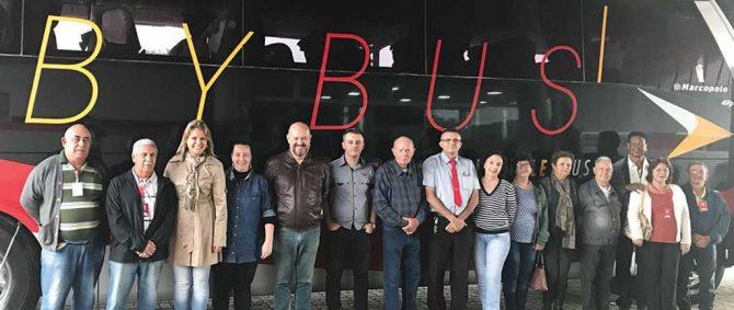 Visita à empresa BYBUS