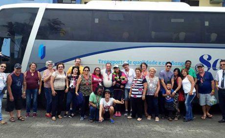 Confira fotos da viagem feita para Bertioga
